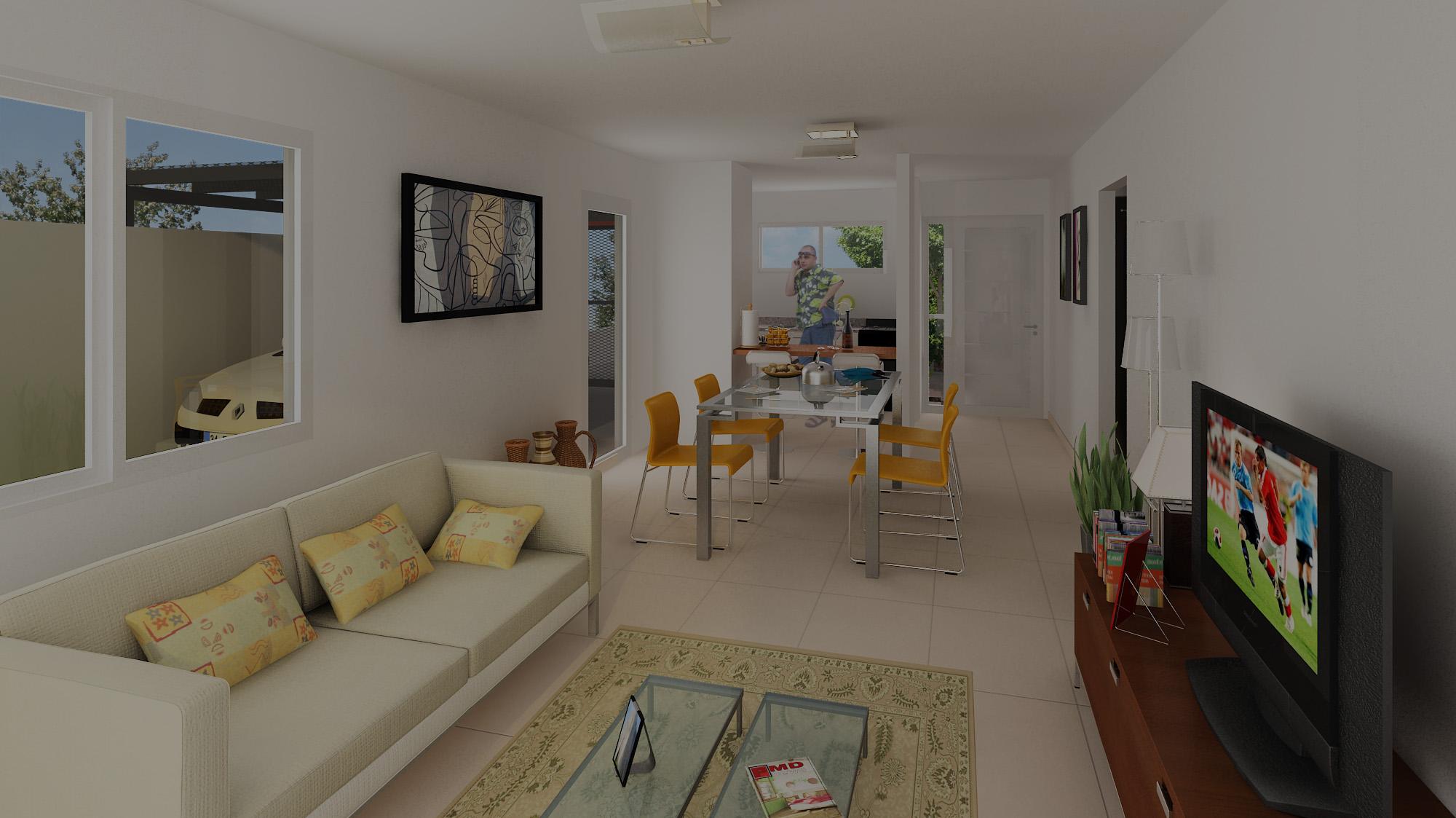Inicio vivienda joven steel framing for Modelos viviendas procrear